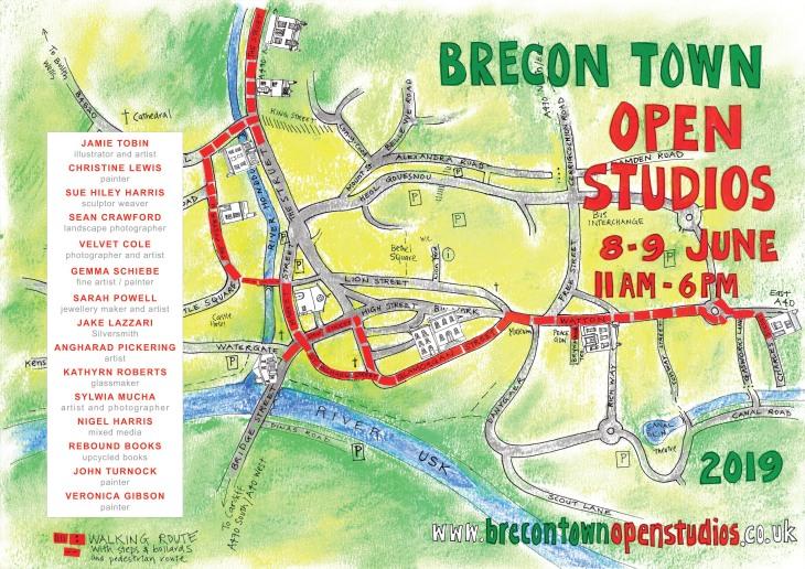 2019 Brecon Town Open Studios